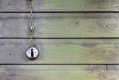 Vintage weathered light switch Stock Photo