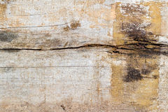 Vintage weathered shabby wooden plank closeup. Natural wood texture Stock Photo