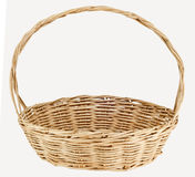 Vintage weave wicker basket Royalty Free Stock Photo