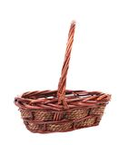 Vintage weave wicker basket. Royalty Free Stock Photo