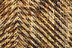 Vintage weave wood pattern for background Stock Photography