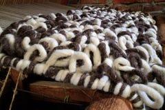Vintage weaving wool loom Royalty Free Stock Photography