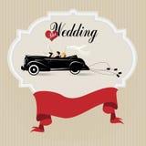 Vintage wedding background Stock Photography
