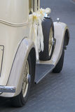 Vintage Wedding Car Royalty Free Stock Photo