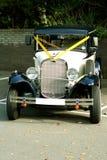 Vintage wedding car Stock Image