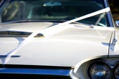 Vintage Wedding Car Stock Images