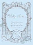Vintage Wedding Card Stock Photos