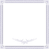 Vintage wedding frame Stock Photography