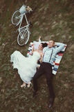 Vintage wedding. Stock Image