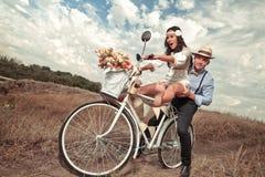 Vintage wedding. Royalty Free Stock Image