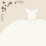 Vintage wedding invitation Royalty Free Stock Images