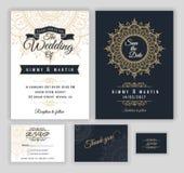 Vintage wedding invitation Mehndi mandala design Stock Photos