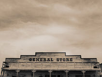 Vintage Western General Store Stock Photos