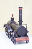 Vintage western model train with pipe Stock Photo