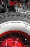 Vintage wheel stock photo