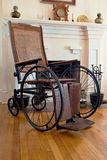 Vintage Wheel Chair Royalty Free Stock Image