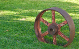 Vintage Wheel Pully Royalty Free Stock Photo