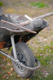 Vintage wheelbarrow Stock Images