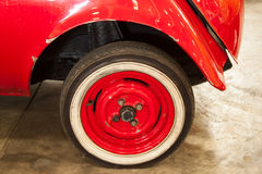 Vintage wheels cars Royalty Free Stock Photography