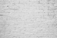 Vintage White Brick Background Royalty Free Stock Photos