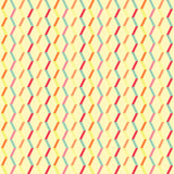 Vintage white colorful lines pattern Stock Images