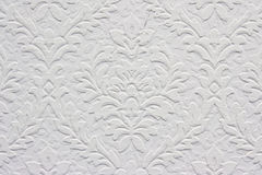 Vintage white floral pattern, wallpaper Stock Photography