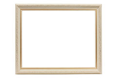 Vintage white frame Stock Photography