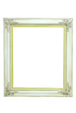 Vintage white picture frame Royalty Free Stock Image