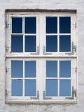 Vintage white windows Royalty Free Stock Photos