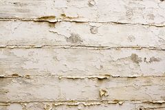 Vintage white wood background. Background texture using vintage white wood material royalty free stock photo