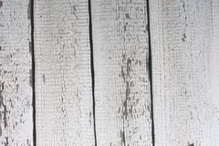 Vintage white wood planks background royalty free stock photo