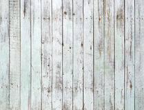 Vintage white wooden wall background Stock Image