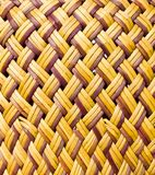 Vintage wicker texture Stock Photography