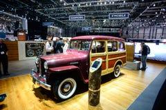 Vintage Willys Jeep Station Wagon Foto de archivo libre de regalías