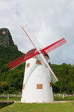 Vintage wind mill Royalty Free Stock Images