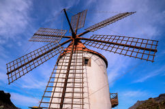 Vintage Wind Mill Royalty Free Stock Photos