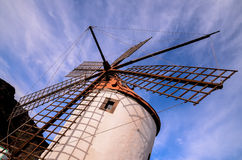 Vintage Wind Mill Royalty Free Stock Photo