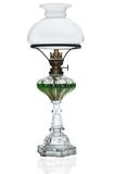 Vintage wind up gas lamp Stock Photo