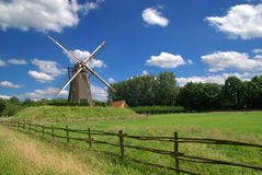 Vintage windmill Royalty Free Stock Images