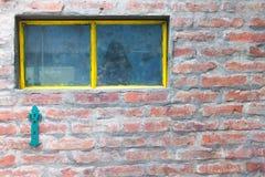 Vintage Window Detail Closeup Stock Photo