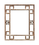 Vintage Window Frame Stock Photography