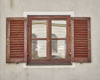 Vintage window, Munchen, Germany. Vintage home window, Munchen, Germany Stock Photo