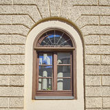 Vintage window, Munchen, Germany. Vintage home arched window, Munchen, Germany Royalty Free Stock Photos