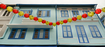 Vintage window in Singapore Royalty Free Stock Images