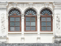 Vintage window on wall Royalty Free Stock Photos