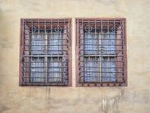 Vintage windows, Leipzig Germany Royalty Free Stock Image