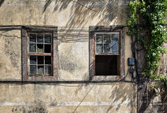 Vintage windows Royalty Free Stock Photo