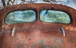 Vintage Windows posterior Foto de archivo libre de regalías