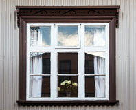 Vintage windows - Scandinavia Royalty Free Stock Photos