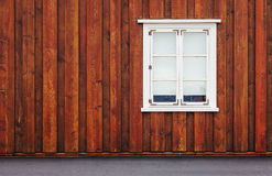 Vintage windows - Scandinavia Stock Photo
